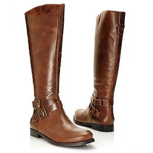 MATISSE Britain Leather Tall Riding Boots